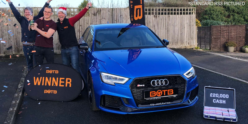 JACOB WALTON - AUDI ABT RS3 + £20K