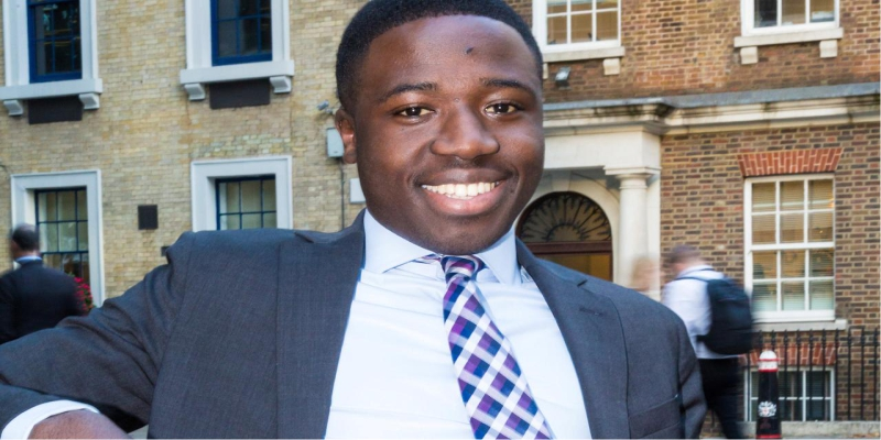 East London Canvasser, 23, Makes It Into Finance